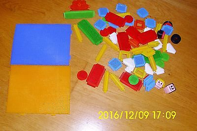 Sticklebricks Bundle including Base, Wheels, Characters