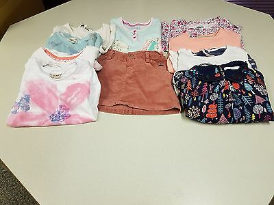 Girls Age 6-7 Years Famous High Street Brands 10 Item Bundle. Free P&P