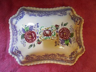 Copeland Spode 2/8772 England MAYFLOWER Cover ONLY for Footed Vegetable Bowl