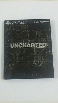 UNCHARTED Steelbook BLACK Case (no game)*NEW*