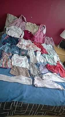 Girls 12-18 months large bundle (29 items - incl NEXT, M&S, Vertbaudet)
