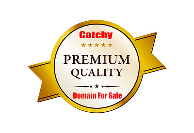 Catchy Premium Gold Domain Name For Sale