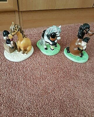 THELWELL'S ROYAL DOULTON x 3