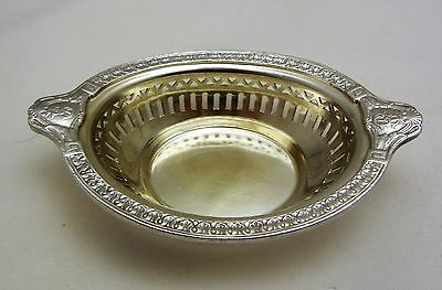 Miami Biltmore Coral Gables Silver Plate Coin Nut Trinket Dish Gorham 1926