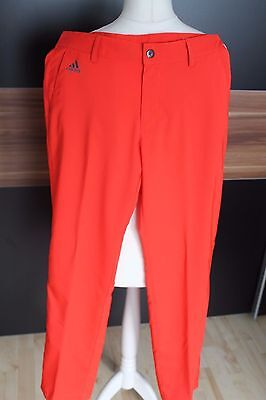 Adidas Golfhose Climalite in Signalrot
