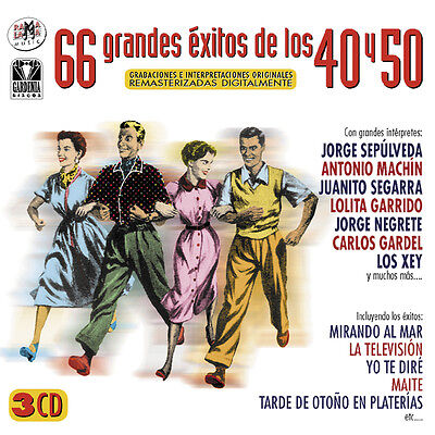 66 Grandes Exitos De Los 40'50'-3Cd