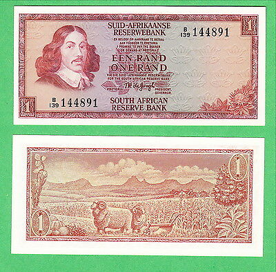 South Africa 1 Rand Note P-110b  UNCIRCULATED