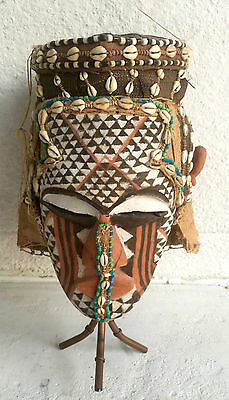 Kuba Tribal Mask from the Mid 1900's
