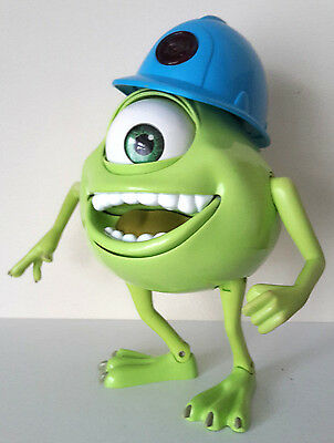"Collectable 9"" Talking Monsters Inc Mike Wazowski Action Figure 2001 Hasbro Toy"