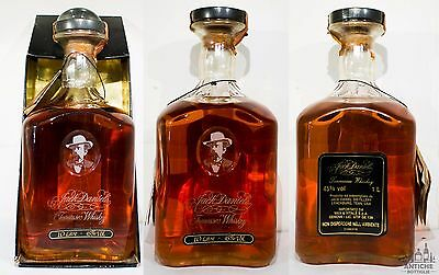 JACK DANIEL'S 125th ANNIVERSARY DECANTER TENNESSEE WHISKEY 1 L 45°