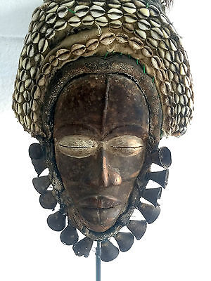 DAN Tribe Ceremonial Mask from Mid 1900's