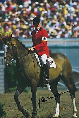John Whitaker Hand Signed 12x8 Photo Team GB Olympics 6.