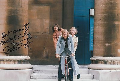 Tim Brooke Taylor Hand Signed 12x8 Photo The Goodies 2.