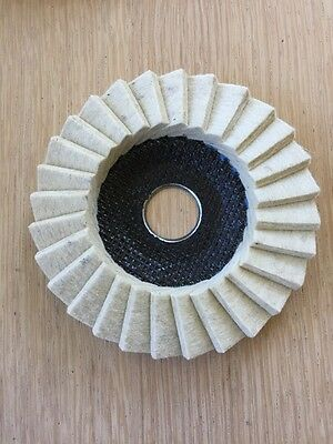 DRONCO Polishing Scouring polishing Flap Disk 115mm  G- VA Fine Finisher Pad