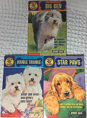Scholastic PUPPY PATROL Paperback Books Lot of 3 #'s 2~4~5