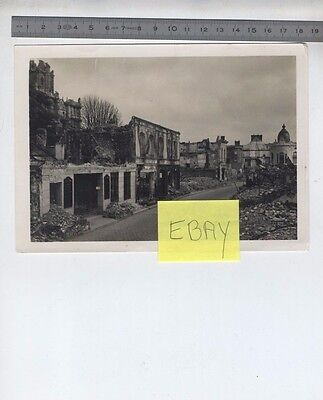 (B/1a) Photo Evreux WW2 Seconde guerre mondiale Ruines
