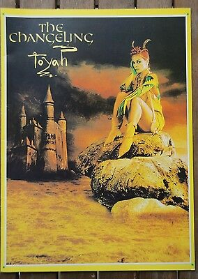 Toyah - The Changeling Tour Programme & 4 used Ticket's