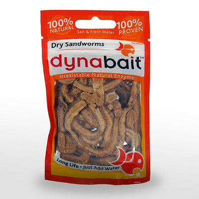 Bait Fishing Dynabait Tackle Dehydrated No Freezer Required Freese Dried