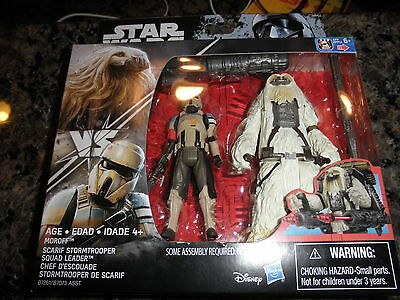 """SCARIF STORMTROOPER & MOROFF Star Wars Rogue One 3.75"""" Action Figure 2 Pack"""