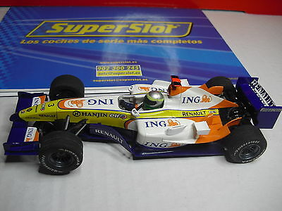 Superslot  F1 ALONSO RENAULT TEAM  Nº 3 NUEVO NEW  1/32