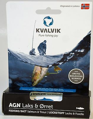 Kvalvik fish attractant scent cream tackle lure - Awarded Product *****