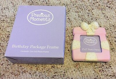 Precious Moments 3x3 Birthday Picture Frame With Box