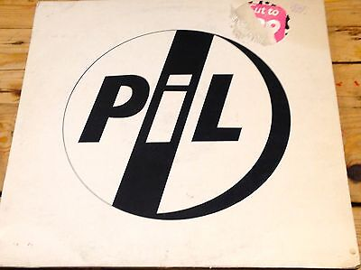 PiL, This Is Not A Love Song 12 inch vinyl single, Virgin, 1983