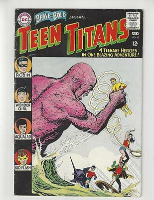 The Brave and the Bold #60/1st Wonder Girl/Teen Titans/FN-