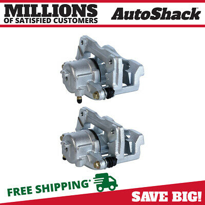 New Front Set Brake Calipers With Phenolic Piston For 01-10 PT Cruiser Non Turbo