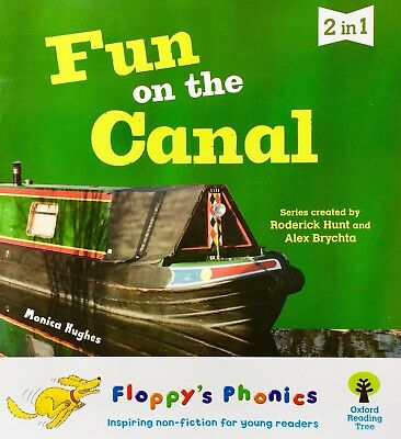 Fun on the Canal Floppy's Phonics Level 1 children's book new