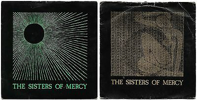 """Sisters Of Mercy - Temple of Love and Alice 7"""" vinyl singles"""