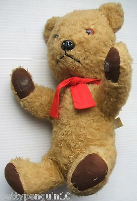 Chad Valley Chiltern 1960s Toy Bear with Intermittent Growl