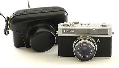Canon Canonet Junior Camera with a 40mm f2.8 lens Takes 35mm Film (7437)