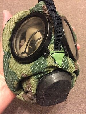 Was £99!! Russian Spetnaz ROU Gas Mask Respirator Flora Camo GRU FSB CS Riot New