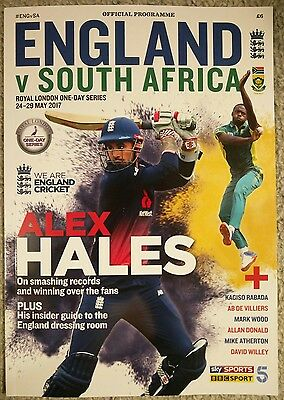 BRAND NEW CHEAP England V South Africa one day series programme 24-29 May 2017