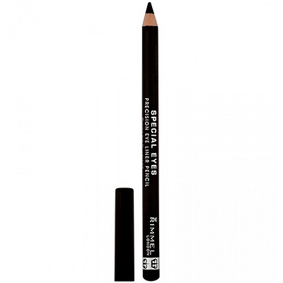 Rimmel Special Eyes Black Eyeliner, Precision Eye Liner Pencil, 161 Black Magic