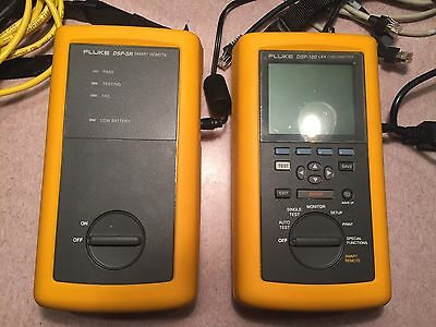 Fluke DSP LAN Cable meter And DSP-SR Smart Remote
