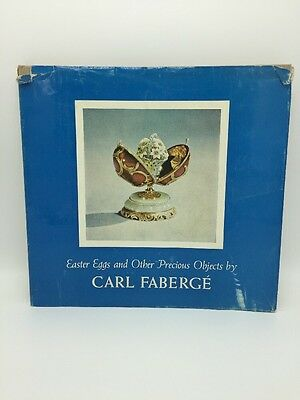 """Vintage 1961 """"Easter Eggs and Other Precious Objects by Carl Faberge"""" Book"""