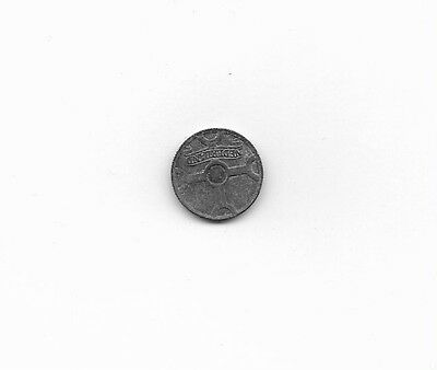 Netherlands Coin, WWII, 1942, 1 cent, circulated