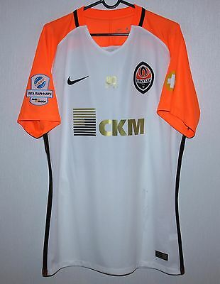 Shakhtar Donetsk Ukraine away match worn shirt 16/17 #38 Kryvtsov Nike signed