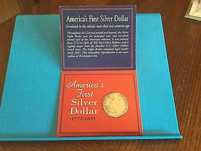 NIP America's First Silver Dollar 1772-1821 The Eight Reales AHS 1997