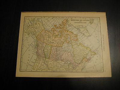 Antique Maps of Canada and Canadian Provinces