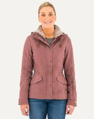 Noble Outfitters Women's Girl Tough Canvas Jacket Rose Taupe