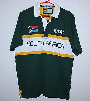South Africa national rugby union team shirt jersey World Cup 2015 Size M