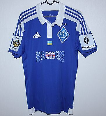 Dynamo Kiev Ukraine away match worn or issue shirt 16/17 #9 Morozyuk Adidas