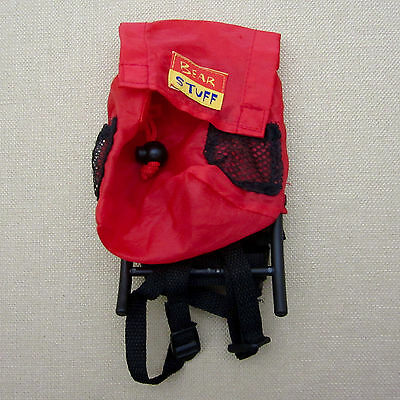 Build-A-Bear Workshop RED BACKPACK Accessory