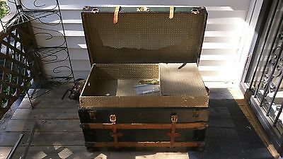 Vintage Steamer Trunk - somewhat restored