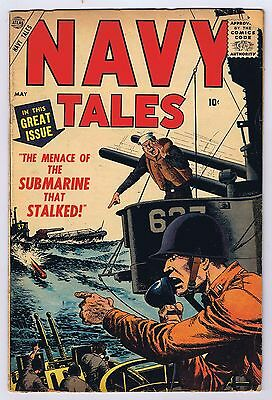 Navy Tales #3 Complete Marvel Atlas 1957 (May) Silver Age Good