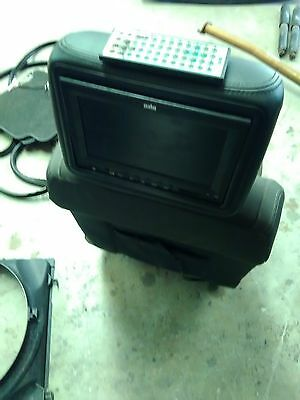 Ford Ranger Px1 3.2 Dual Cab Front Head Rest Tv Screens Pair With Cables
