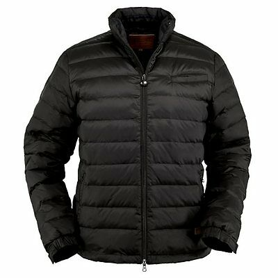 Outback Trading Co Men's Bryce Down Filled Black Jacket
